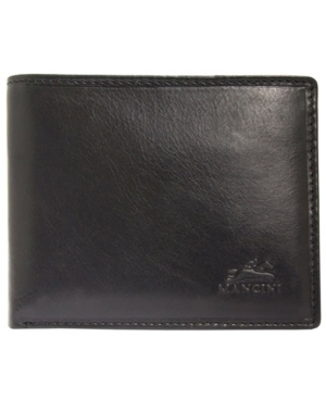 Boulder Collection Rfid Secure Billfold with Removable Left Wing Passcase