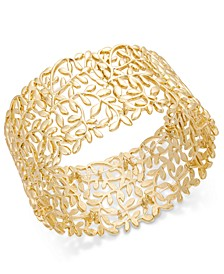INC Rose Gold-Tone Vine Stretch Bracelet, Created For Macy's