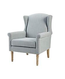 Martha Stewart Jaxx Accent Chair, Quick Ship