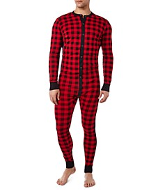 Men's Cotton Jumpsuit Pajamas