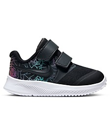 Toddler Girls Star Runner 2 Rebel Stay-Put Closure Running Sneakers from Finish Line
