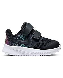 Nike Toddler Girls Star Runner 2 Rebel Stay-Put Closure Running Sneakers from Finish Line