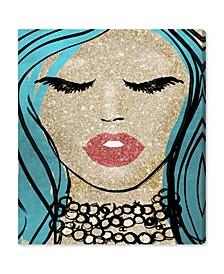 "Mermaid Vibes Barbie Canvas Art, 30"" x 36"""