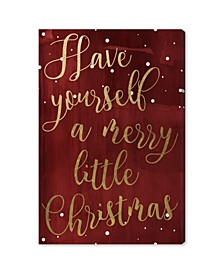 Have Yourself A Merry Christmas Canvas Art Collection