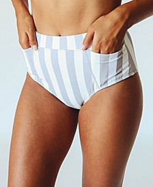 Women's Nani Pocket Mid Rise Swim Bottom