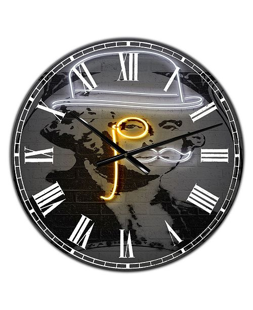 "Designart Washington Large Modern Wall Clock - 38"" x 38"" x 1"""