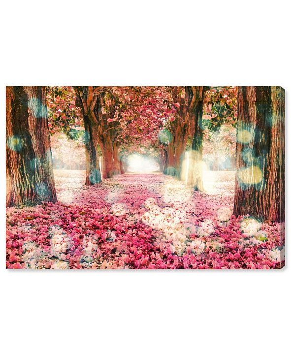 "Oliver Gal Beautiful Day Canvas Art, 24"" x 16"""