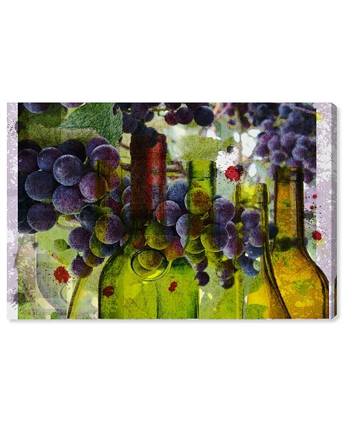 """Oliver Gal Parfait Frutilicious Canvas Art, 36"""" x 24"""""""