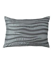 Beaded Wave 12  x 18  Decorative Pillow