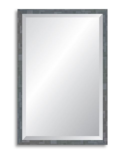 Reveal Frame Decor Reveal Millennium Geometric Twilight Silver Beveled Wall Mirror Reviews All Mirrors Home Decor Macy S