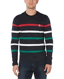 Men's Slim-Fit Striped Sweater