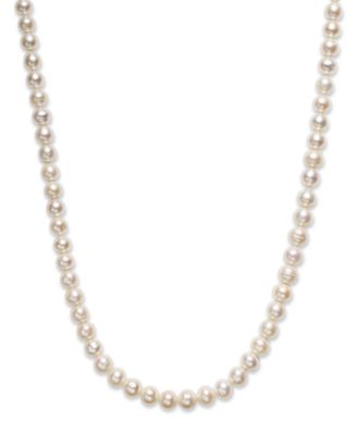 "Image of Belle de Mer Pearl Necklace, 36"" Cultured Freshwater Pearl Endless Strand (8-1/2mm)"