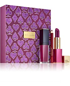 3-Pc. Limited Edition Casino Royale Plum Lips Gift Set