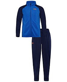 Little Boys 2-Pc. Colorblocked Jacket & Pants Track Set