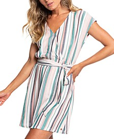 Juniors' Peace Of Mind Striped Dress
