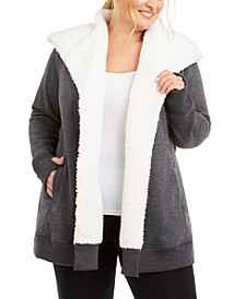 Plus Size Fleece-Lined Jacket, Created For Macy's
