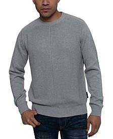 Men's Tri-Pattern Knit Sweater