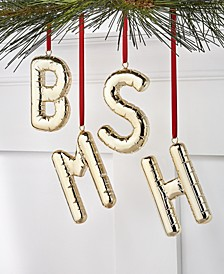 Initials Ornament, Created for Macy's