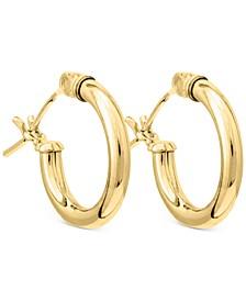 Child's Hoop Earrings in 14k Gold
