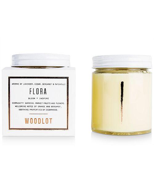 WOODLOT Flora Candle, 8-oz.