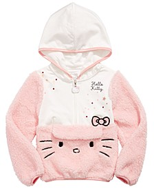 Little Girls Pouch Hoodie