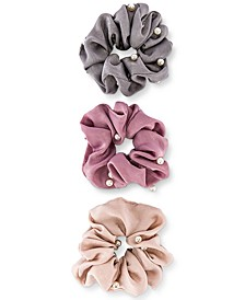 3-Pc. Pearl Scrunchie Set