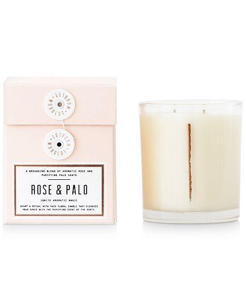 WOODLOT Rose & Palo Candle, 13.5-oz.