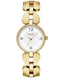 Women's Annadale Gold-Tone Stainless Steel Bracelet Watch 30mm