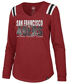 Women's San Francisco 49ers Flash Long Sleeve T-Shirt