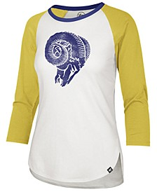Women's Los Angeles Rams Legacy Raglan T-Shirt