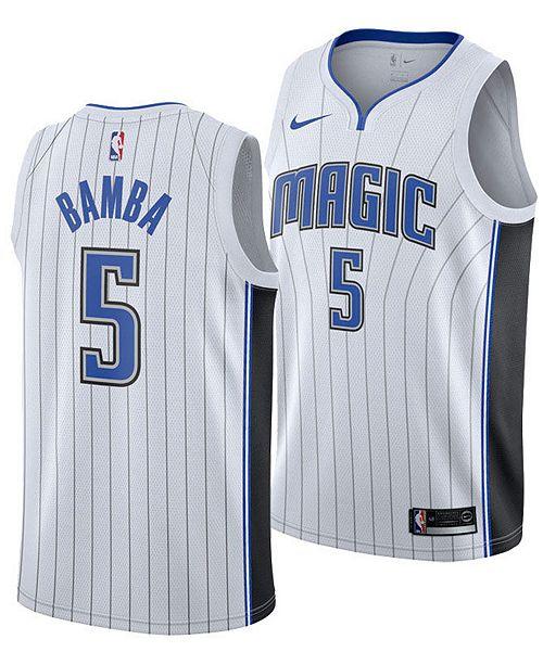 Nike Men's Mohamed Bamba Orlando Magic Association Swingman Jersey