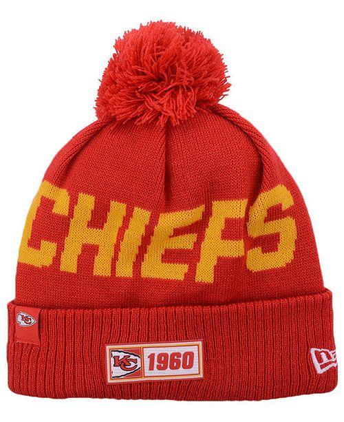 New Era Kansas City Chiefs Road Sport Knit Hat