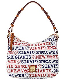 New York Giants Doodle Small Kiley Hobo