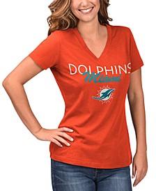 Women's Miami Dolphins Teamwork T-Shirt