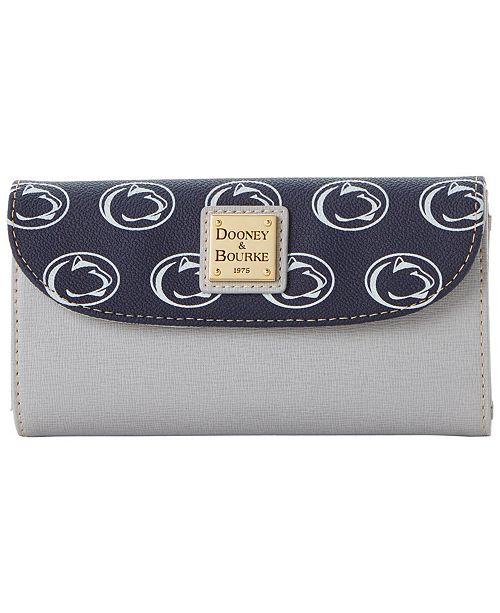 Dooney & Bourke Penn State Nittany Lions Saffiano Continental Clutch