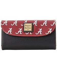 Alabama Crimson Tide Saffiano Continental Clutch
