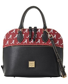 Alabama Crimson Tide Saffiano Zip Satchel