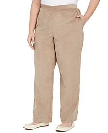 Plus Size First Frost Proportioned Corduroy Pants