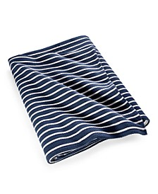 Classic Striped Weave King Bed Blanket