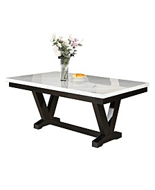 Fernada Marble Top Dining Table
