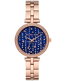 Women's Maci Rose Gold-Tone Stainless Steel Bracelet Watch 34mm