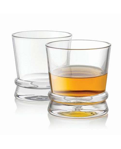 JoyJolt Afina Scotch Whiskey Glasses Set of 2