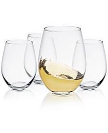 Spirits Stemless Wine Glass Set of 4