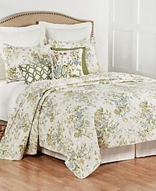 C F Home Wildflower Full/Queen Quilt Set