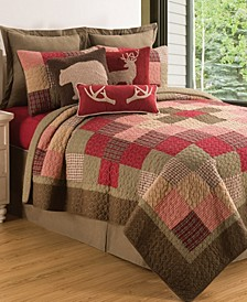 Huckleberry Sage Full Queen Quilt Set