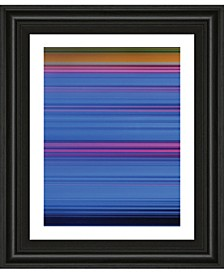 "Abstract Blues by Mark Baker Framed Print Wall Art, 22"" x 26"""