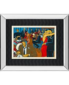 "After Hours by Marsha Hammel Mirror Framed Print Wall Art, 34"" x 40"""