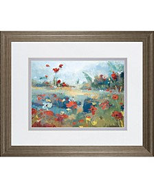 """Garden Delight by Noah Desmond Framed Print Wall Art, 34"""" x 40"""""""