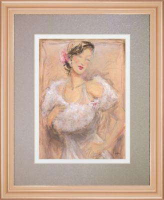 """Stole My Heart II by Dupre Framed Print Wall Art, 34"""" x 40"""""""