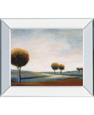 "Tranquil Plains I by Ursula Salemink-Roos Mirror Framed Print Wall Art, 22"" x 26"""